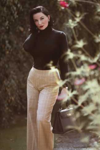 40s Ethel Connery 7/8 Pants in Beige