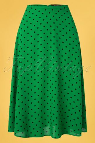 40s Juno Pablo Skirt in Very Green