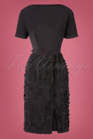 50 Anika Cocktail Dress in Black