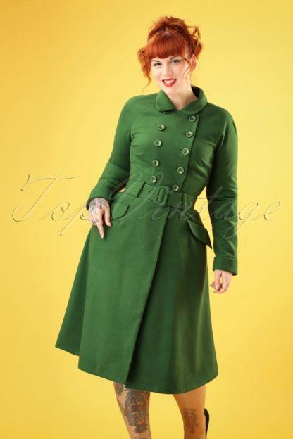 50s Addy Coat in Green