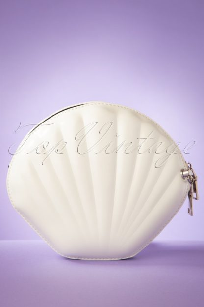 50s Get Out Of Your Shell Bag in Off White