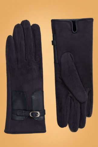 50s Kimberly Gloves in Navy