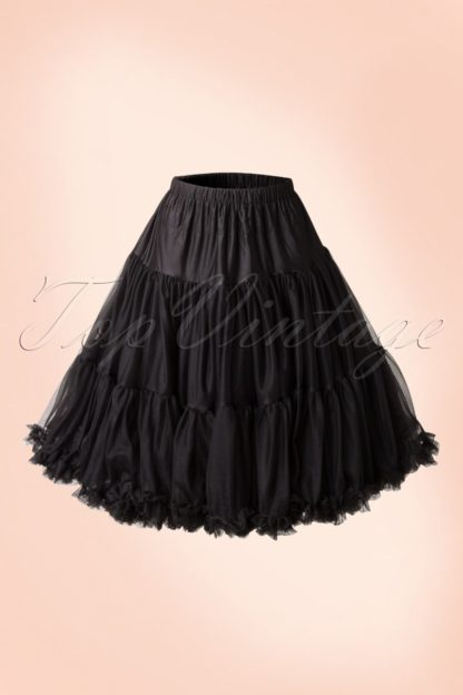 50s Lola Lifeforms Petticoat in Black