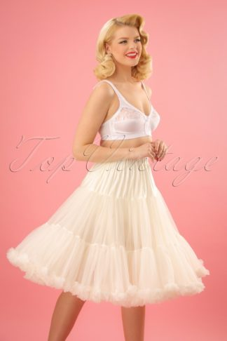 50s Lola Lifeforms Petticoat in Ivory
