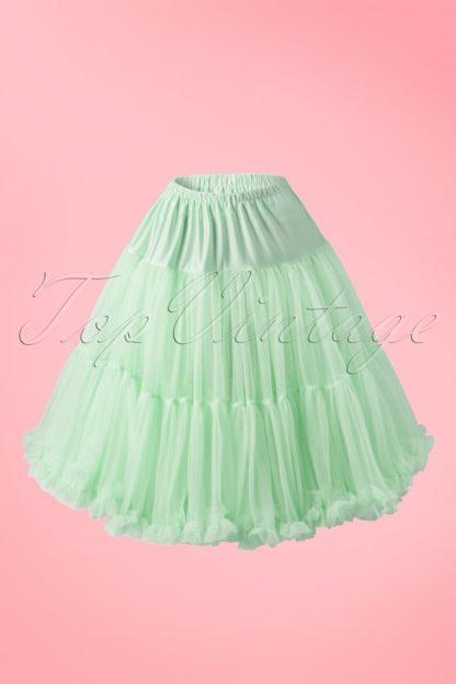 50s Lola Lifeforms Petticoat in Mint Green
