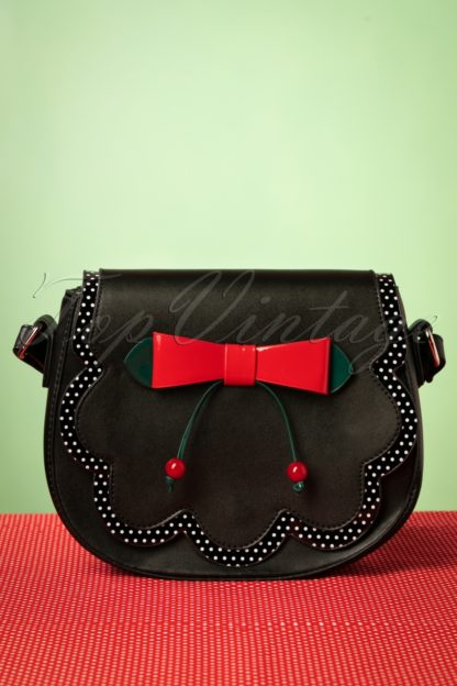 50s Marilou Bag in Black