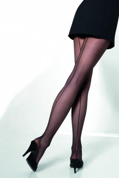 50s Vienna seamed tights black 16 denier
