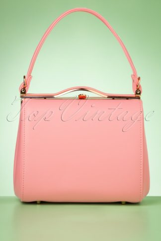 60s Carrie Bag in Pastel Pink
