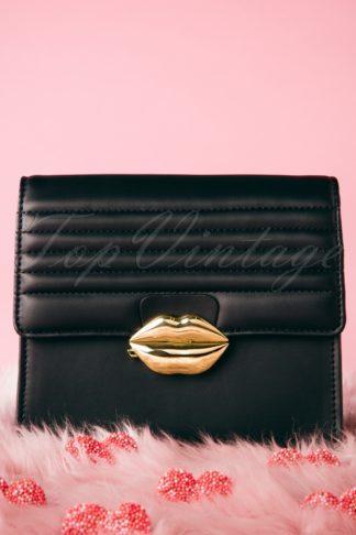 60s Mini Love Handbag in Black