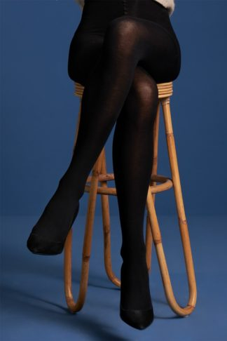 60s Modal Tights in Black