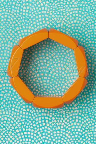 60s Pixie Bracelet in Orange