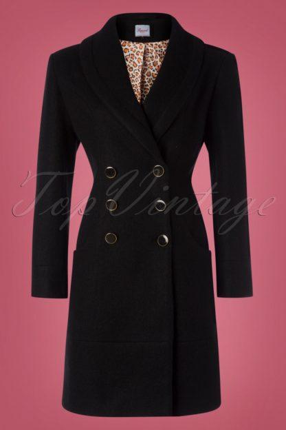 60s Rocking Coat in Black