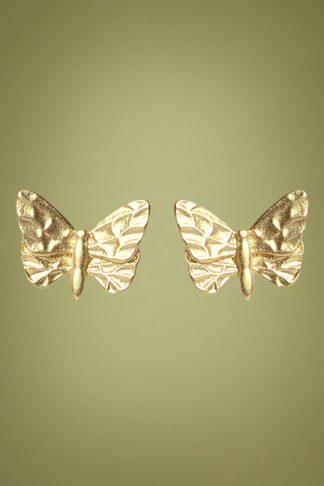70s Abdon Earstuds in Gold