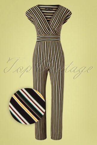 70s Lot Gelati Jumpsuit in Black