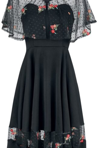 Belsira Dress with Bolero Mittellanges Kleid schwarz