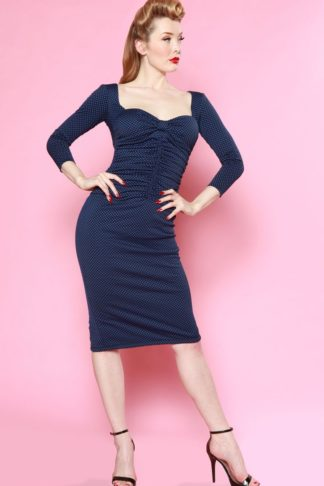 Bettie Page Clothing - Kleid Copa Cabana Polkadot von Rockabilly Rules
