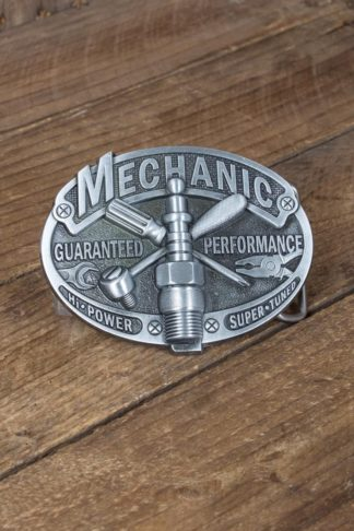 Buckle Vintage Mechanic von Rockabilly Rules