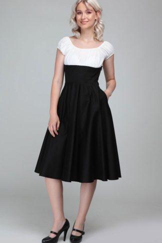 Collectif Cesira Classic Swing Dress   Swingkleid von Rockabilly Rules