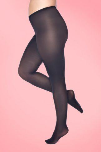 Curvy Super Stretch Tights in Black