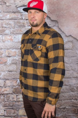 Dickies - Hemd Sacramento, brown duck von Rockabilly Rules