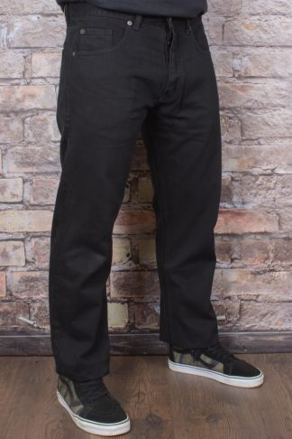 Dickies - Michigan Jeans, schwarz von Rockabilly Rules