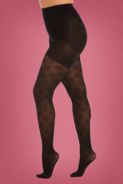 Fancy Legs Tights in Black