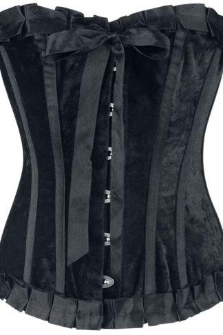 Gothicana by EMP Namrael Korsage schwarz