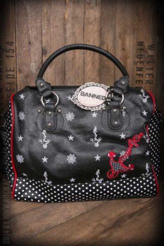 Handtasche - Anker groß von Rockabilly Rules