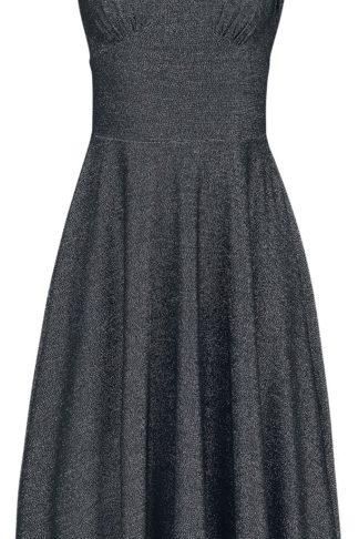 Hell Bunny Athena Dress Mittellanges Kleid schwarz