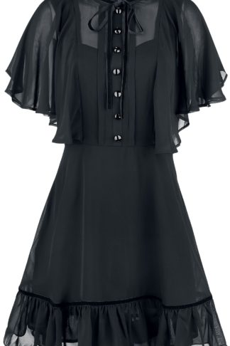 Hell Bunny Imperia Dress Kurzes Kleid schwarz