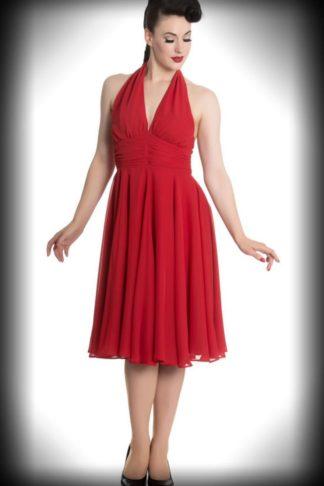 """Hell Bunny - Neckholder Kleid """"Monroe"""" von Rockabilly Rules"""