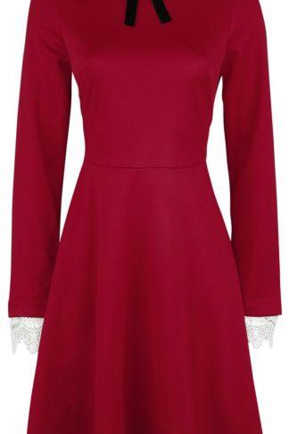 Hell Bunny Ricci Dress Kurzes Kleid rot