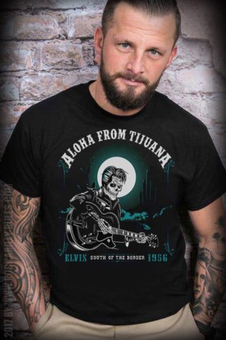 Mexican Mob - T-Shirt Aloha from Tijuana von Rockabilly Rules