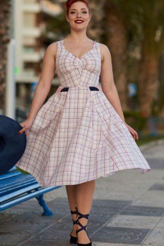 Miss Candyfloss Swingkleid Vichy Magdalena von Rockabilly Rules