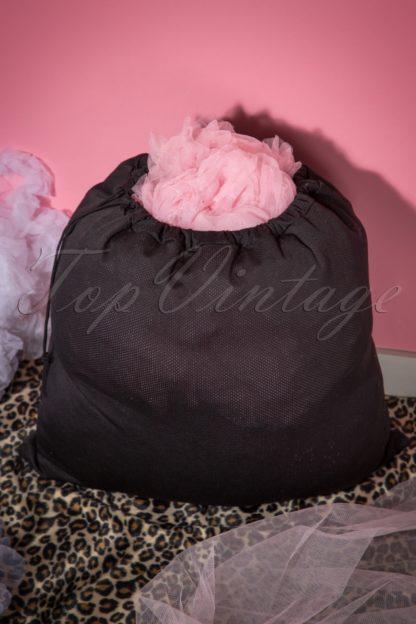 Petticoat Wash Bag in Black