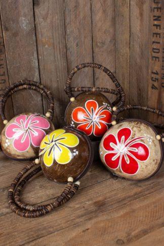 Pin Up Hawaii Handtasche Kokosnuss von Rockabilly Rules