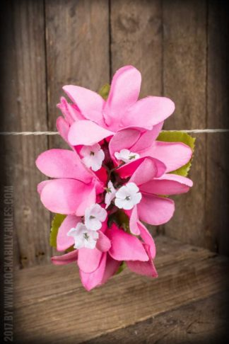 Plumeria HairClip Light Pink von Rockabilly Rules