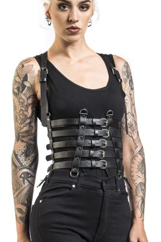 Poizen Industries Nox Belt Harness schwarz