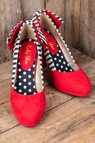 Ruby Shoo - Pin-up Pumps Katie von Rockabilly Rules