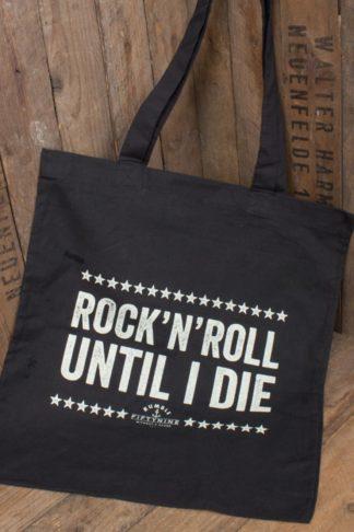 Rumble59 - Baumwolltasche - Until I Die von Rockabilly Rules