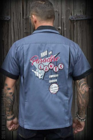Rumble59 - Bowling Shirt - Paradise Lanes von Rockabilly Rules