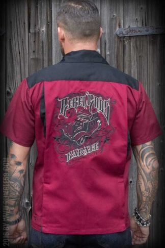 Rumble59 - Bowling Shirt - Rebel Rods von Rockabilly Rules