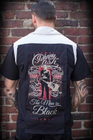 Rumble59 - Bowling Shirt - The Man in Black von Rockabilly Rules