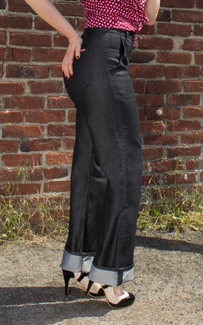 Rumble59 Denim - Black Marlene Jeans von Rockabilly Rules