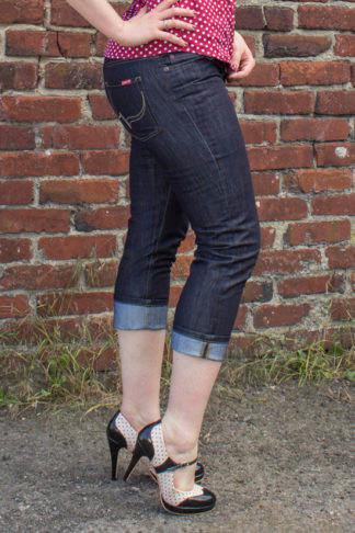 Rumble59 Denim - Ladies Capri Jeans von Rockabilly Rules