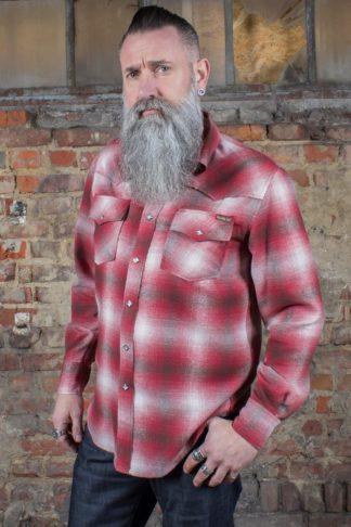 Rumble59 - Flannel Shadow Plaid Shirt | Flanellhemd von Rockabilly Rules