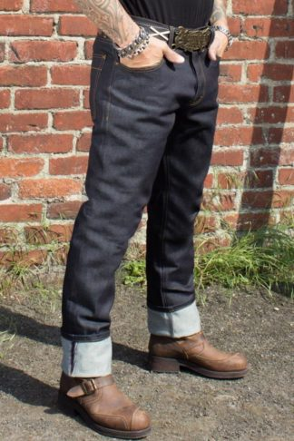 Rumble59 Jeans - Male Slim Fit RAW Denim von Rockabilly Rules