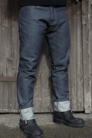 Rumble59 Jeans - Male Slim Fit RAW Selvage Denim von Rockabilly Rules
