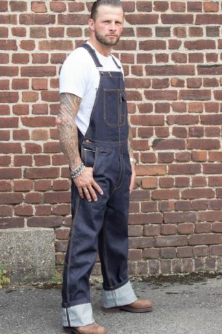 Rumble59 Jeans - Raw Selvage Denim Dungarees | Latzhose von Rockabilly Rules