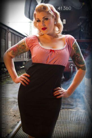 Rumble59 Ladies - Carmenkleid - Sweet Vichy von Rockabilly Rules